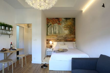 TRENDY STUDIO WITH TERRACE 15 SECS TO THE BEACH - San Sebastián - Pis