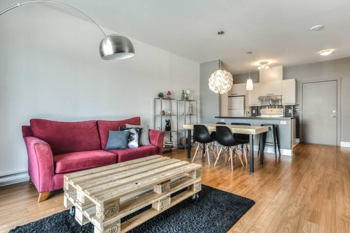 Condo de style cozy - Longueuil - Wohnung