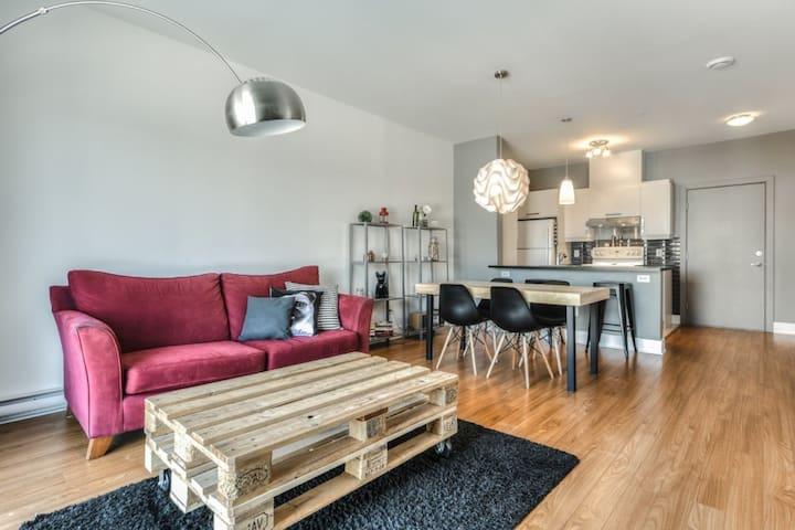Condo de style cozy - Longueuil - Apartment