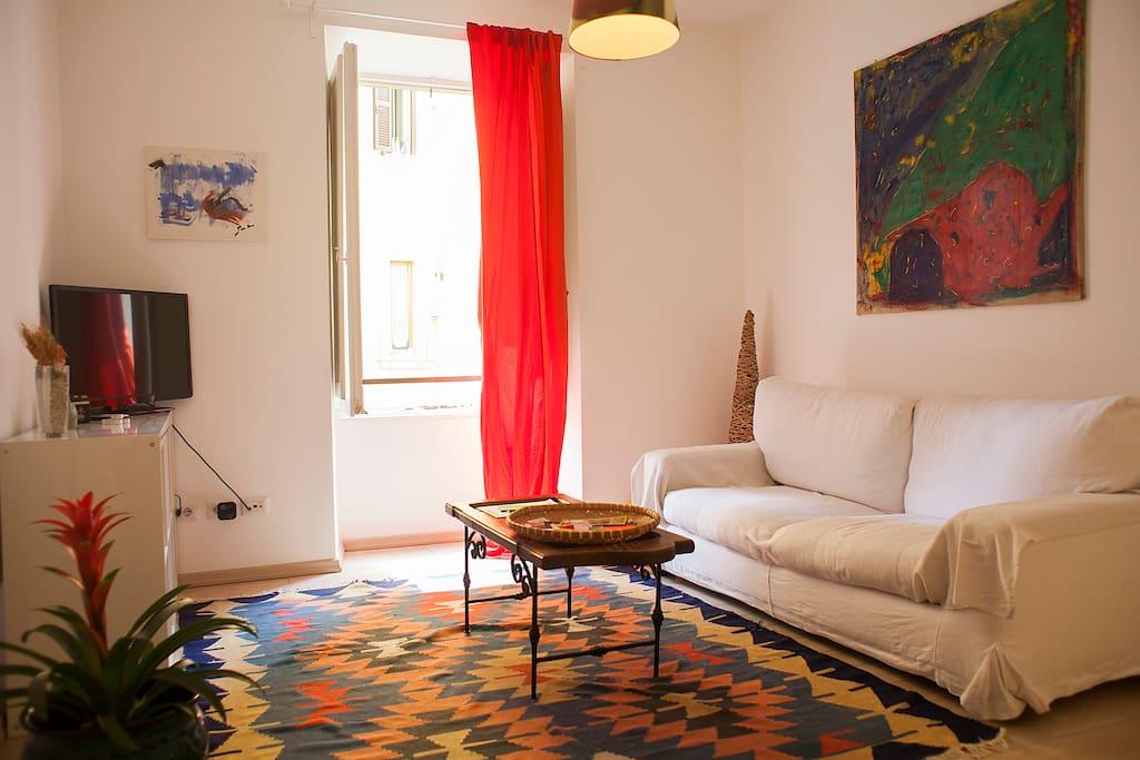 Centrale e tranquillo appartamenti in affitto a roma for Appartamenti in affitto roma