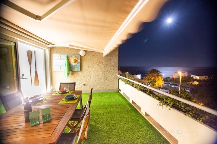Sea view apartment 2D