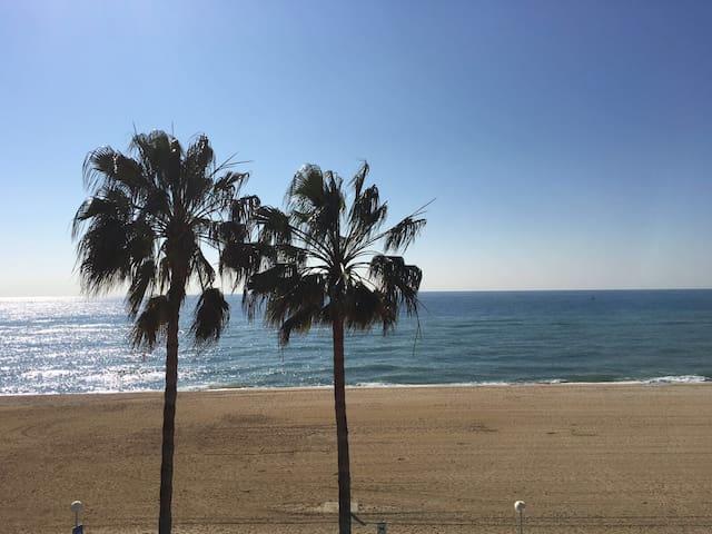 Apartamento primera linea Mar/golf - Sant Vicenç de Montalt - Apartment