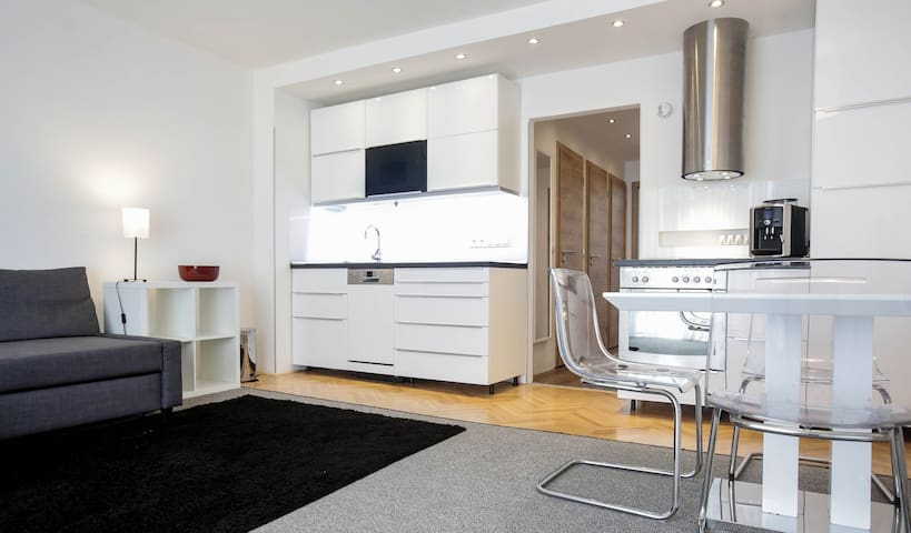 Nice apartment near Prague center - Prag - Daire