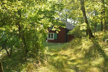 Mycket enkelt torp med charm - Rönninge - Blockhütte