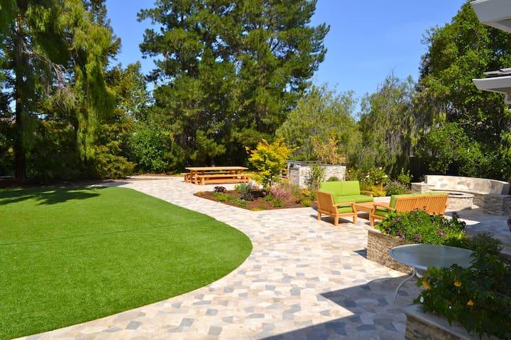 Beautiful, open home in Saratoga,CA - Saratoga - Maison