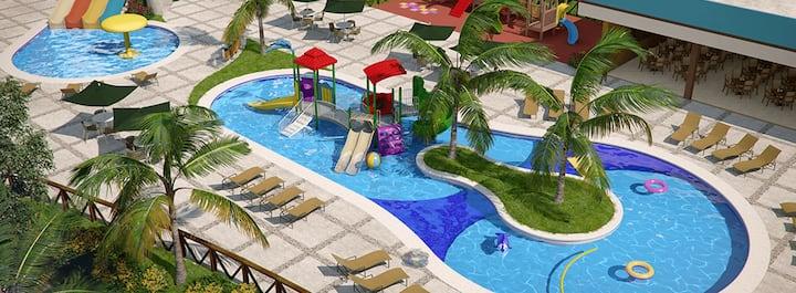 Apartamento em Caldas Novas com Parque Aquático