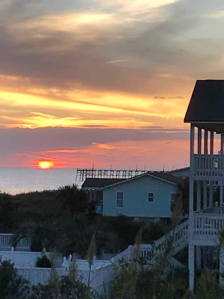 Sand Surf and Sunset Ocean View Condo