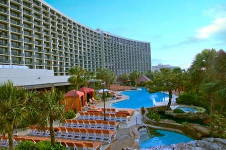 Resort Style San Luis Condo SeaView - Galveston - Apartment