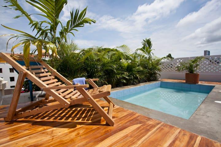 Mooie 3 Slpk de oude stad Cartagena zwembad