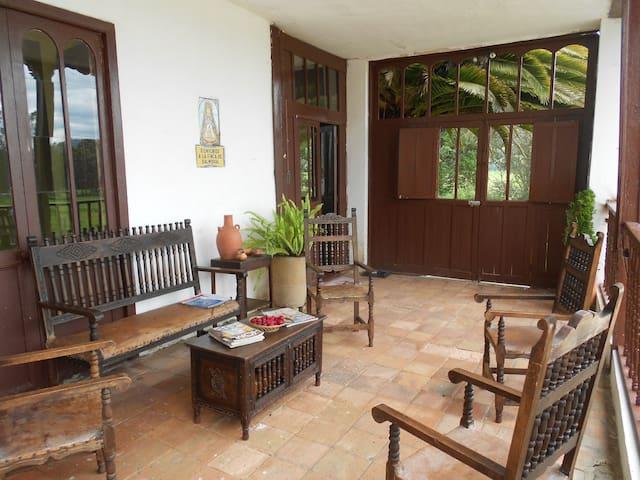 Beautiful Colonial House in Boyaca - Colombia - Sotaquira - Hus