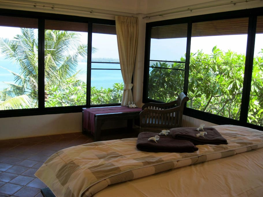 The Vista Room's ocean view