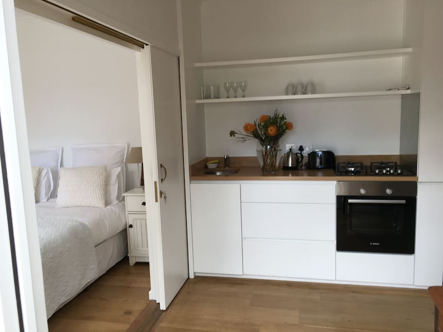 Fully equipped Kitchen for self catering.