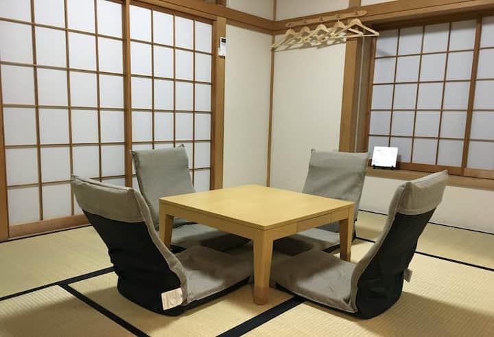 요코하마 역 근처의 단독 주택 (편리하고 조용하며 편안한)