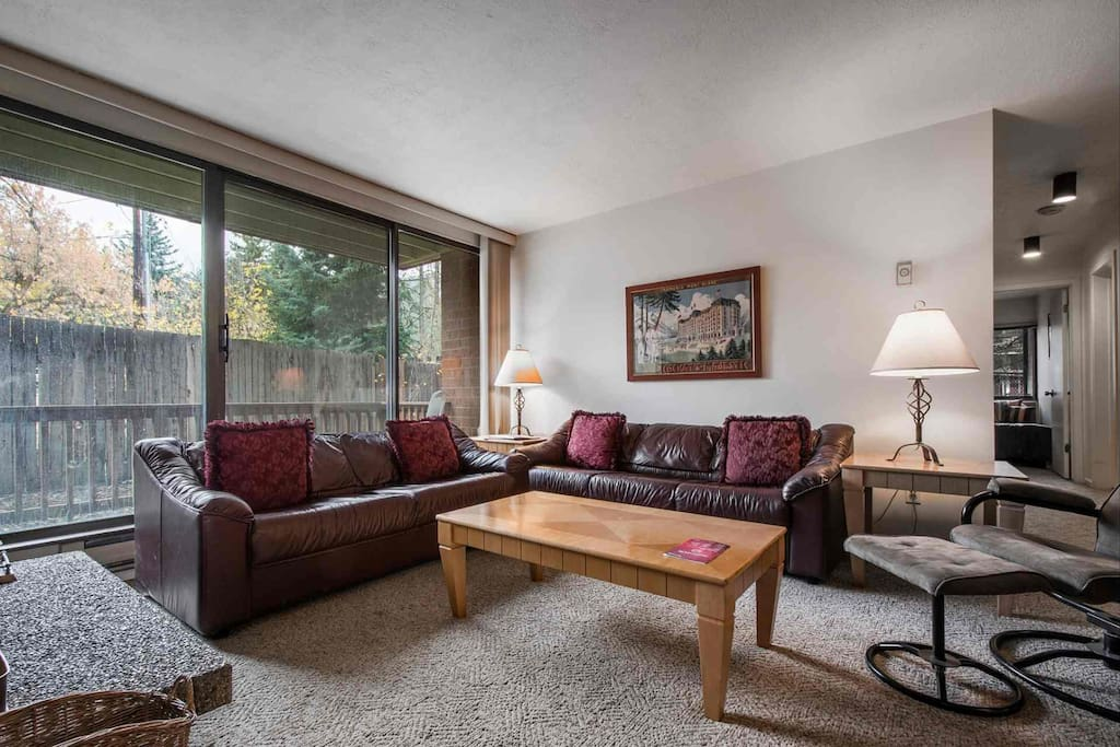 You will love the convenience and charm of this well appointed, three-bedroom, two-bath condo, which sleeps 7 comfortably.