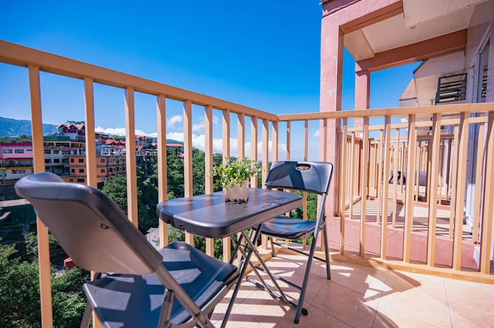 Studio Balcony Deluxe at Moldex Residences Baguio