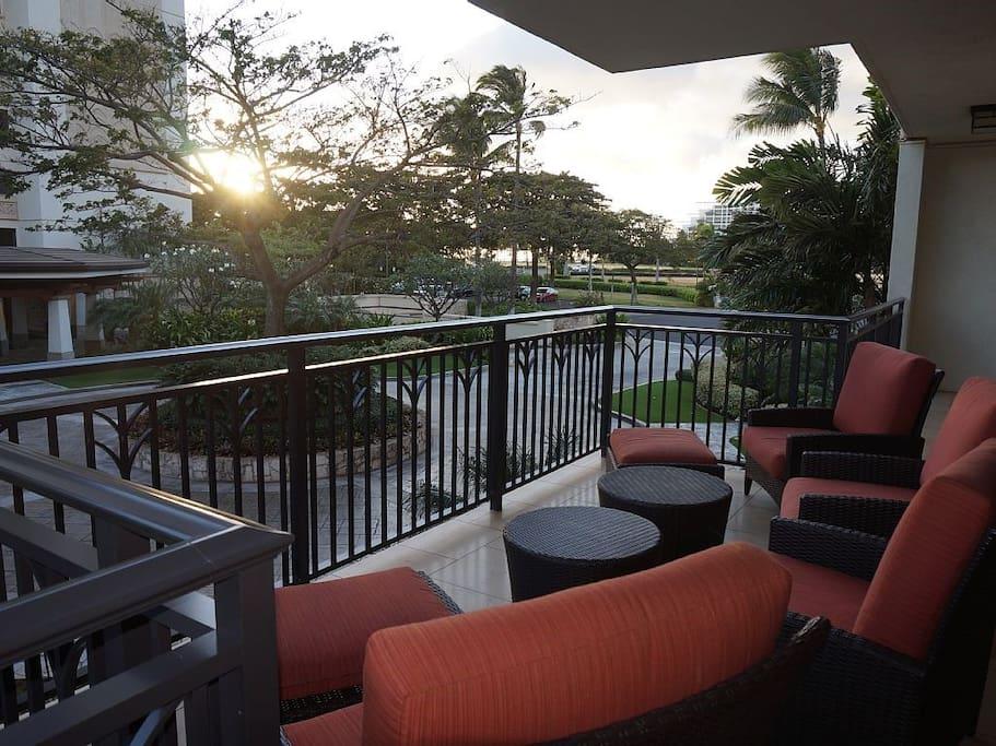 Sunset View at Lanai