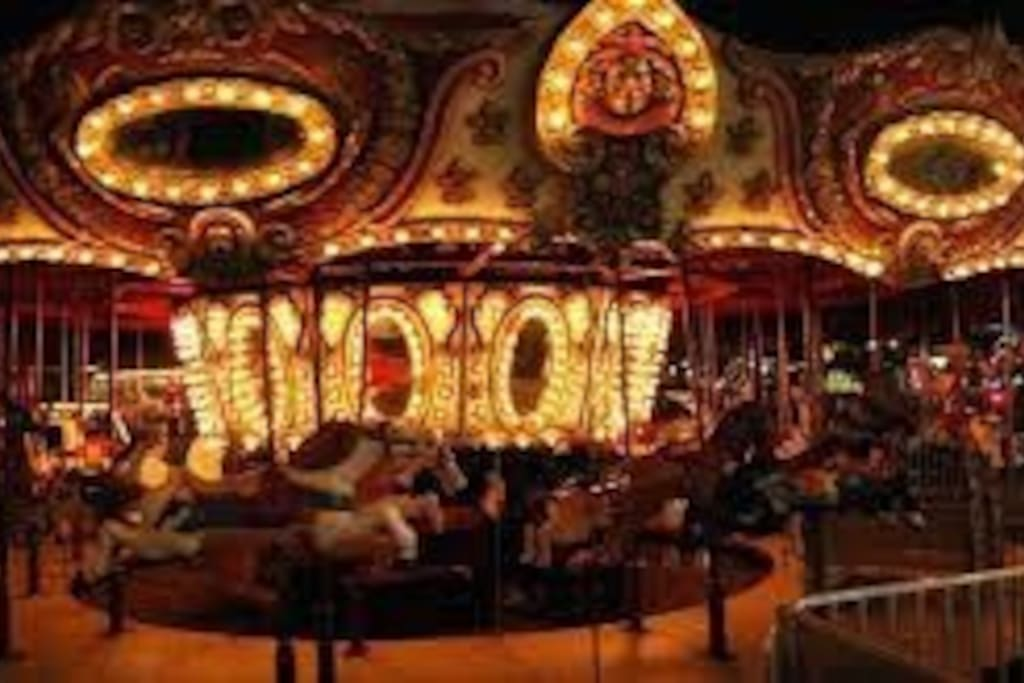 Carnival Every summer night from 5-12 midnight  starts on Memorial weekend to Labor Day weekend