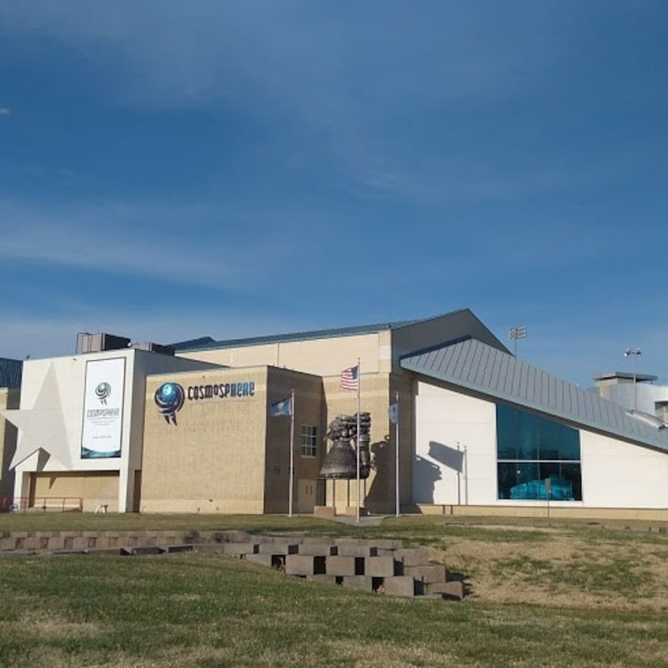 Perfect location for a trip to the internationally known Cosmosphere and Space Center!