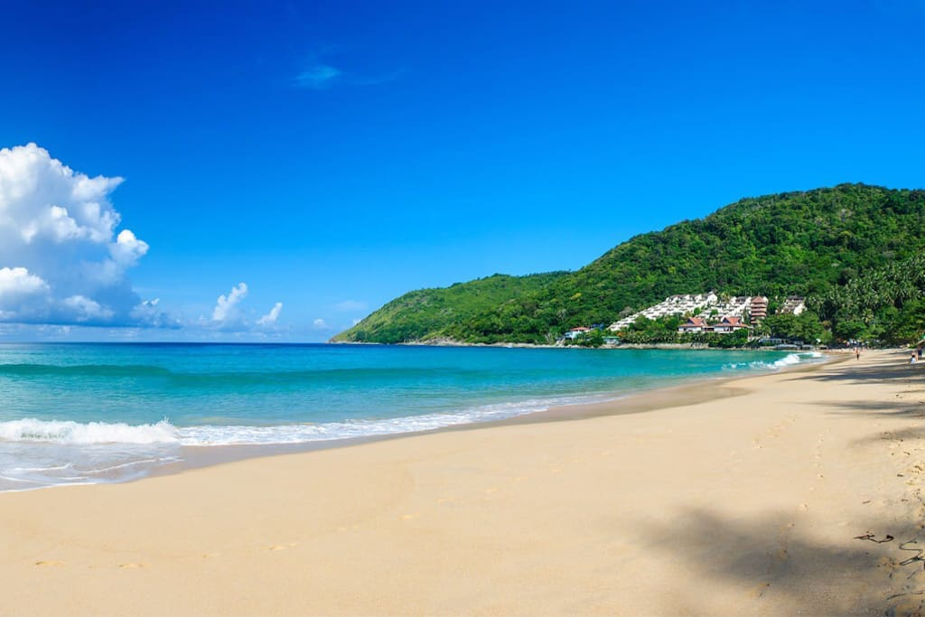 Just 1 mins Drive from the property, the best beach in Phuket