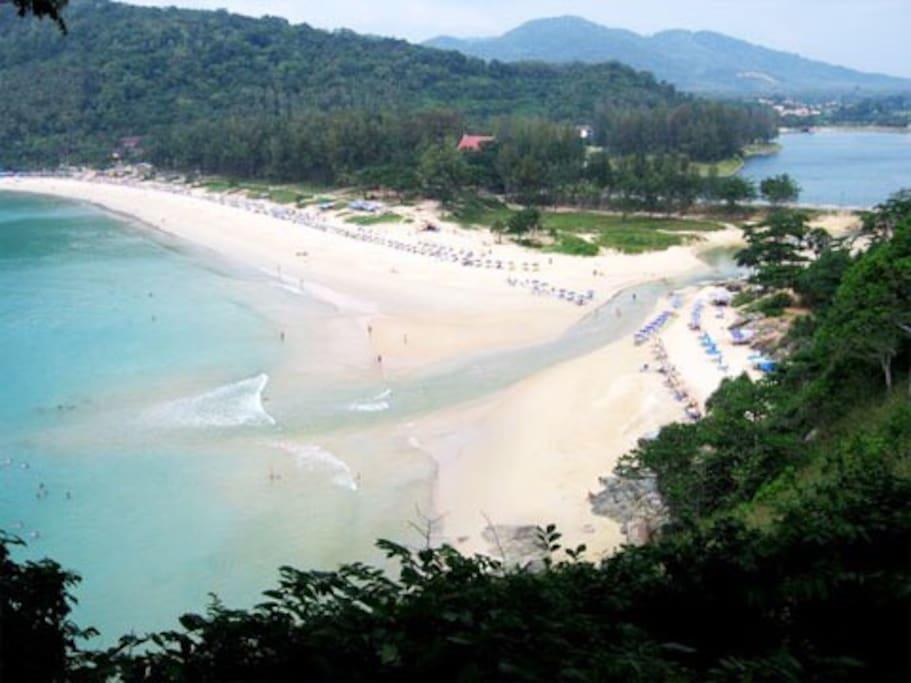 What an amazing beach