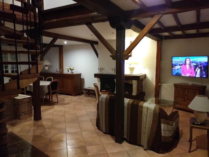 Pavillon complet St Quentin+ wifi pour 8 voyageurs