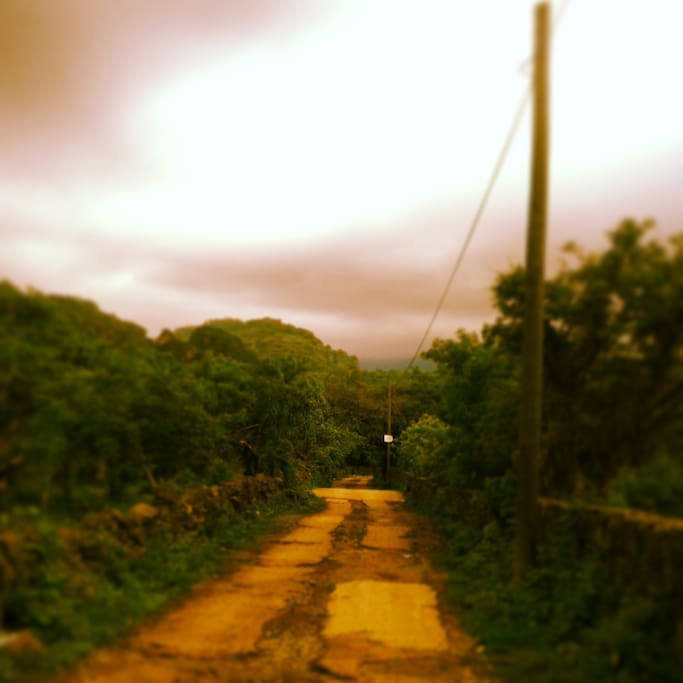 the road to get there