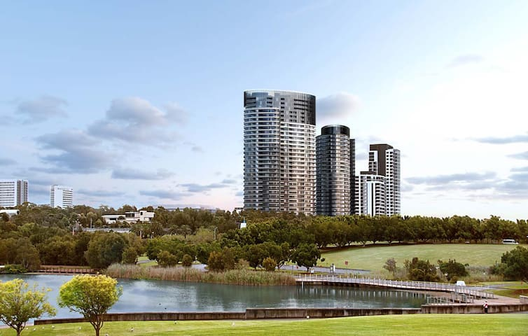Deluxe Unit Sydney Olympic Park - Parc olympique de Sydney - Appartement