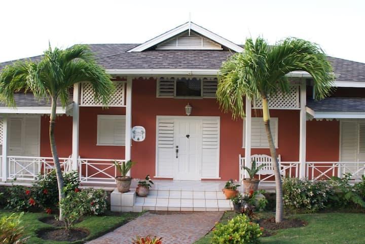 "Royal Palm Villa  ""One of the BEST on Montserrat"""