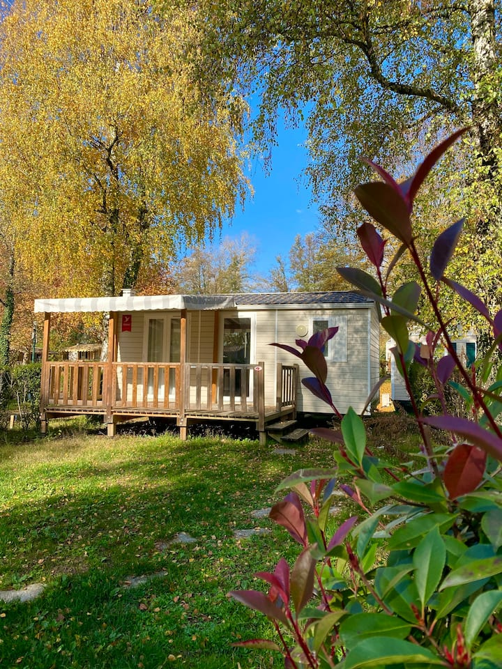 Camping du Sierroz *** - Mobil-home Evo 4 pers