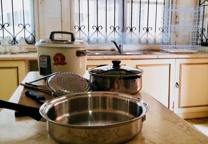 Dapur dan sarana memasak