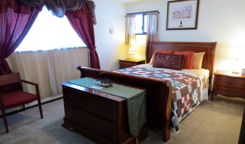Tamarack Room (with breakfast) at Riverwood B&B
