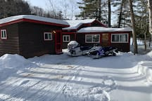 Great location for snowmobiling!