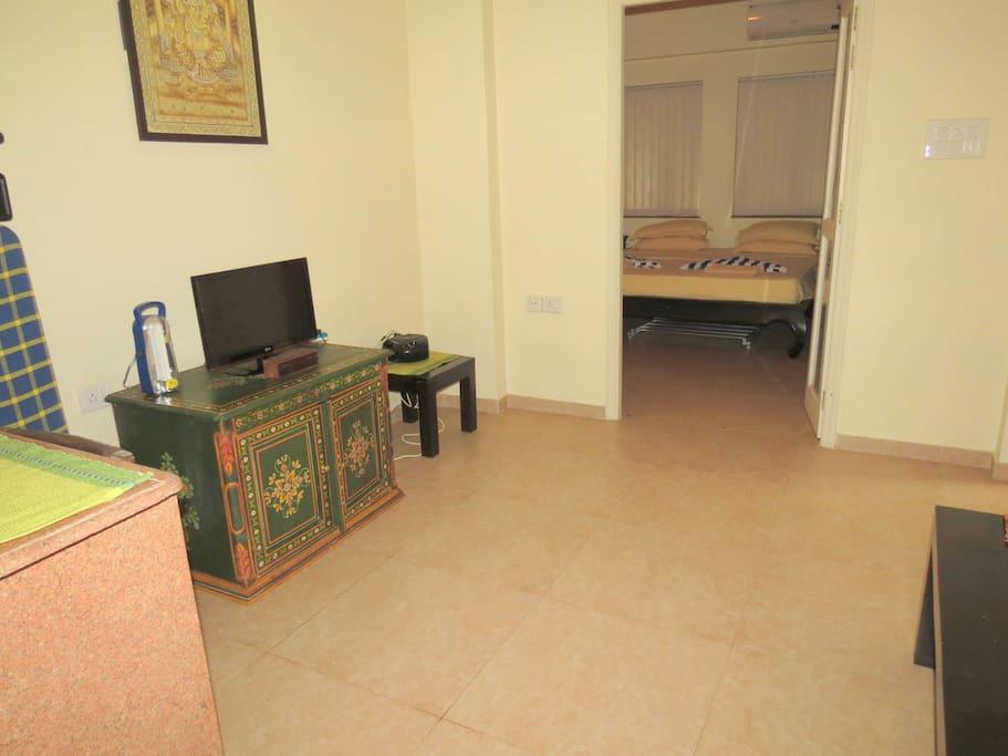 08) Quiet Apartment Siolim Sleep2/3