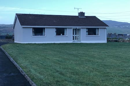 Relaxing 4 bedroom beach home in Dunfannaghy