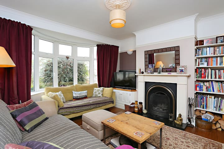 Beautiful 1930s family home - Bristol - Casa