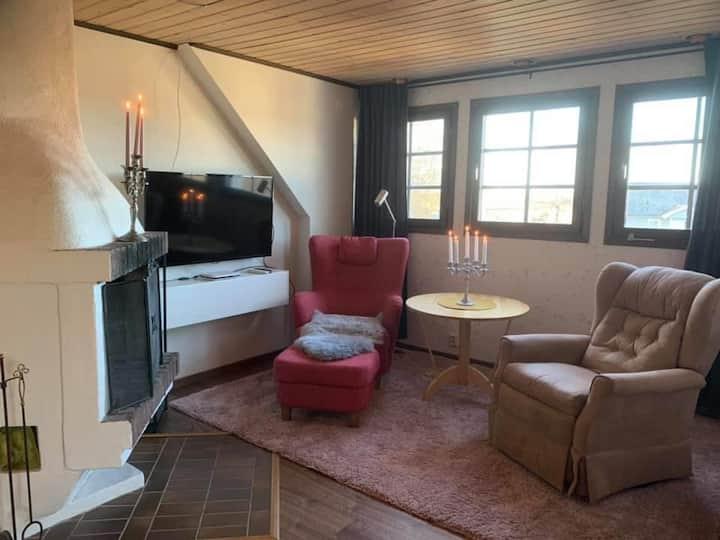 Rum på eget plan i villa