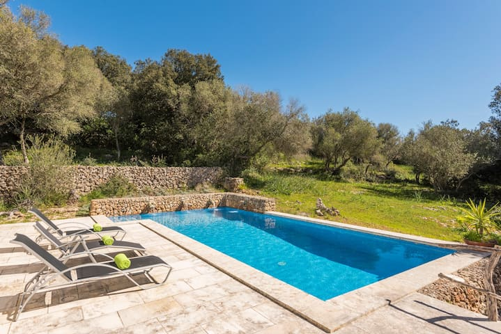 Finca Ses Curtanetas- private pool, free WiFi