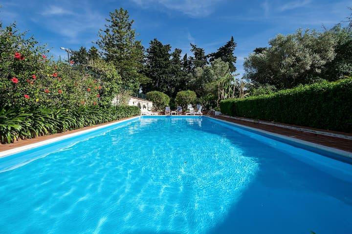 La grande piscine 15m x 6m