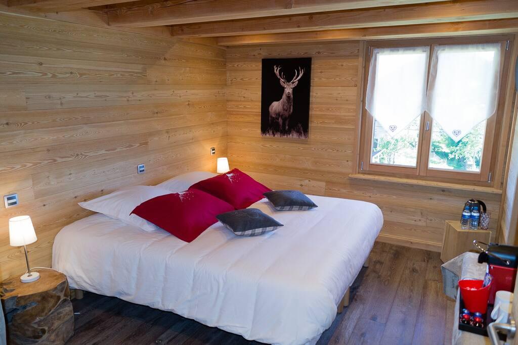 chambre petit d jeuner bournette la vercouline chambres d 39 h tes louer villard de lans. Black Bedroom Furniture Sets. Home Design Ideas