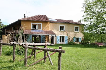 Chambre double - Sainte-Croix-Volvestre - Bed & Breakfast