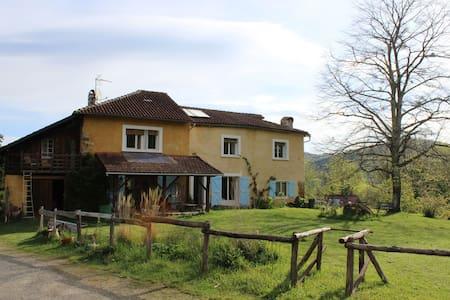 Gîte terrasse - Huis