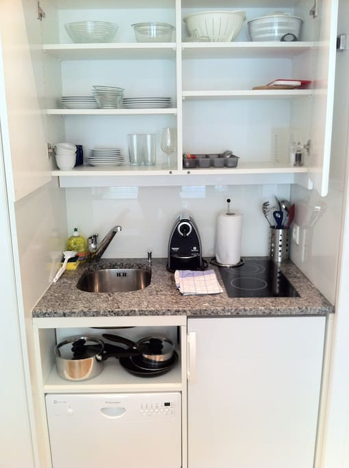 fully equiped kitchenette