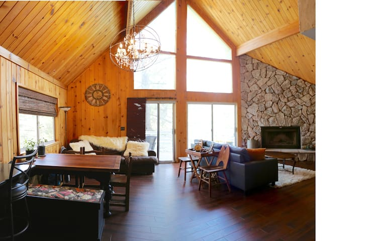 Treetop Mountain chalet-escape, relax, decompress