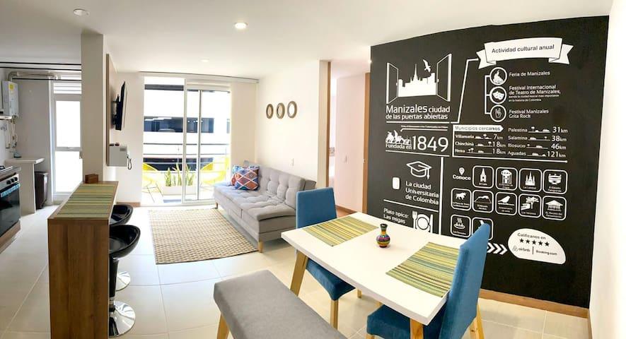 Apartamento en Manizales: el espacio que buscas.