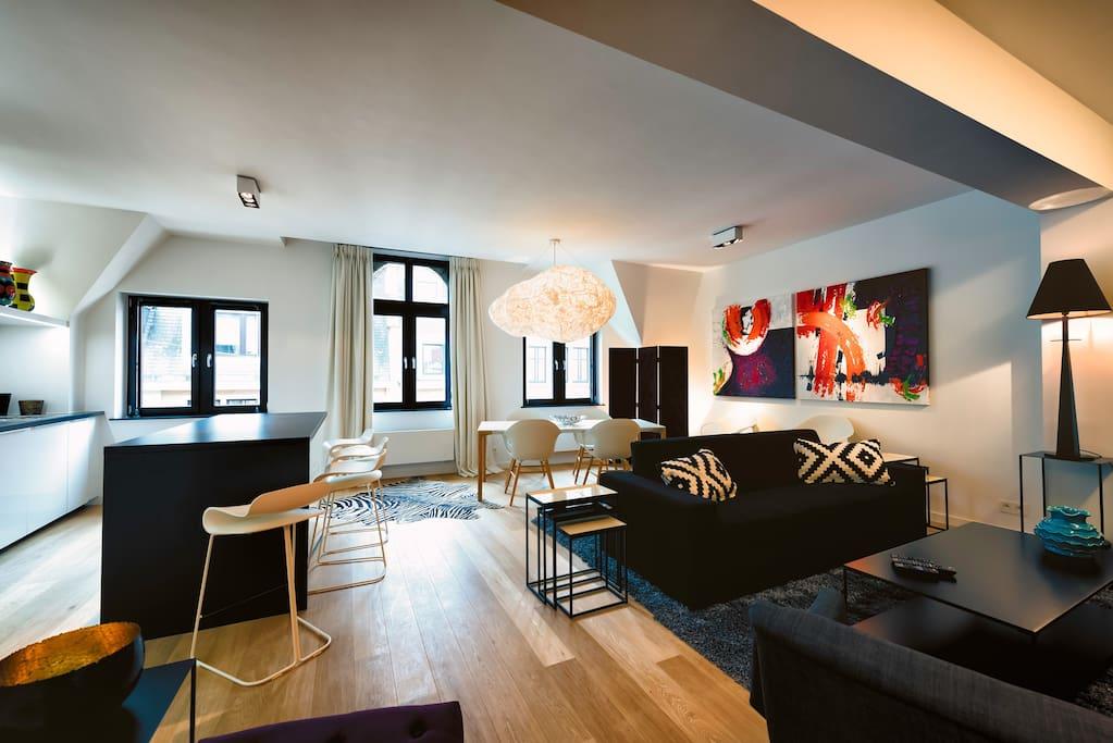 Appartement de 2 chambres lumineux avec ascenseur - Appartement a louer a bruxelles 3 chambres ...