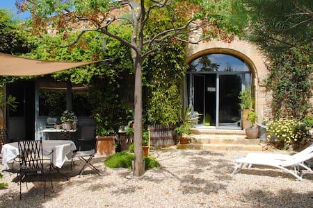 Maison ancienne, agréable à vivre - La Capelle-et-Masmolène