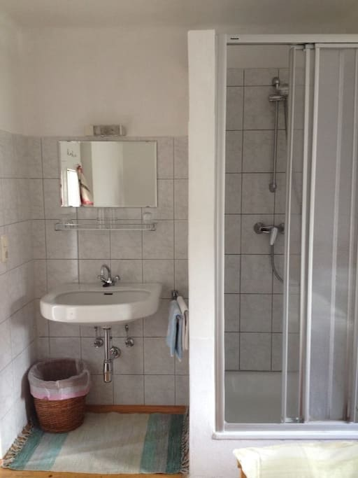 Shower and Washing place