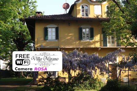 Villa Mirano B&B Camera ROSA - piossasco - Bed & Breakfast