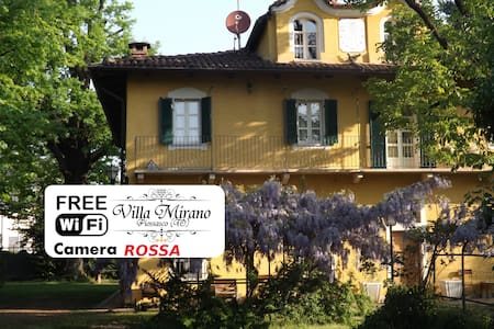 Villa Mirano B&B Red Room - Piossasco