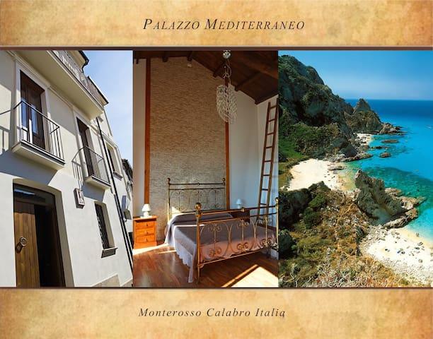 Palazzo Mediterraneo - intero palazzo - Monterosso Calabro - House